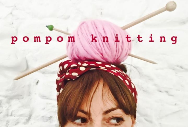 pompom knitting